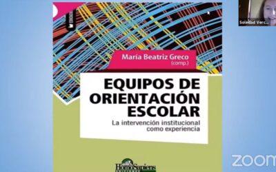 Presentación Libro «EOE, la intervención institucional como experiencia»en el marco de la 1º JORNADAS NACIONALES UNIVERSITARIAS DE EDUCACIÓN INICIAL.